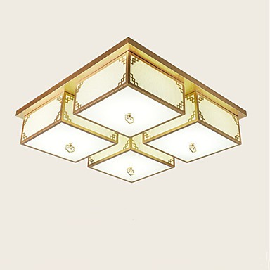 A new Chinese Style Living Room Lamps Iron Ceiling Lighting Atmosphere A