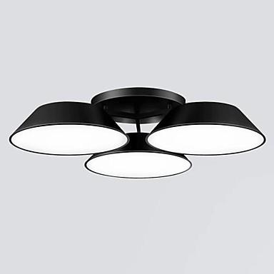 Flush Mount 3 Lights Metal Acrylic Simple Modern 220V