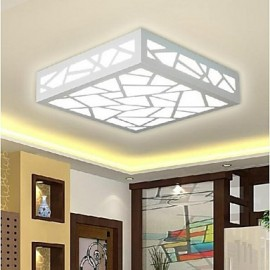 9 Modern/Contemporary / Traditional/Classic LED / Bulb Included Wood/Bamboo Flush MountLiving Room / Bedroom / Dining Room / Study