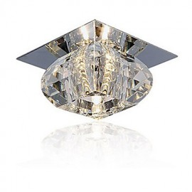 20W Modern/Contemporary Crystal / Mini Style Flush Mount Living Room / Bedroom / Dining Room