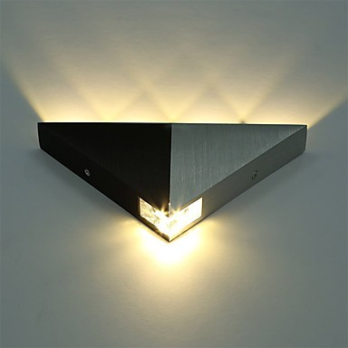 Modern Triangle 5w Led Wall Sconce Light Fixture Indoor