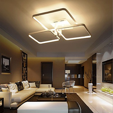 85W Modern/Contemporary LED Flush Mount Living Room / Bedroom / Dining Room / Kitchen