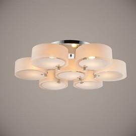 Flush Mount Modern/Contemporary 7 Lights Ceiling Light/Kids Room/Entry/ Hallway/ Metal