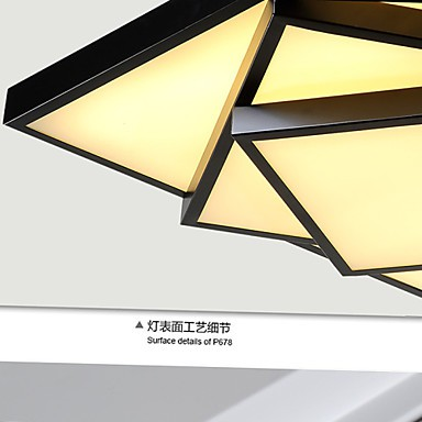 24W 90~265V Square Flush Mount/LED Modern/Contemporary Ceiling light