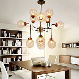 Magic Beans Droplight Creative Living Room Of Individual Character Dining-Room Lamp, Wrought Iron Industry Wind