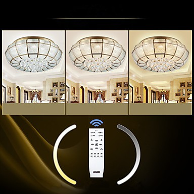 27 Traditional/Classic / Rustic/Lodge LED / Bulb Included Brass Metal Flush Mount Living Room / Bedroom / Dining Room