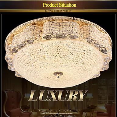 Modern Luxury 60W LED Crystal Ceiling mounted Light Bedroom LED Absorb Dome Light Diameter 50CM