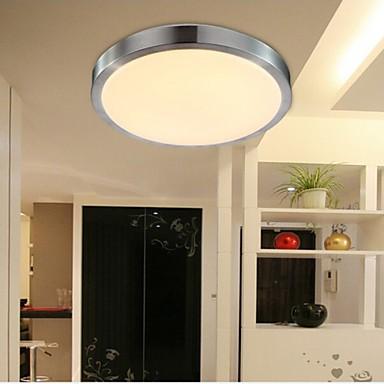 Flush Mount Lights LED 12W Bedroom Light Round Simple Modern Diameter 29CM