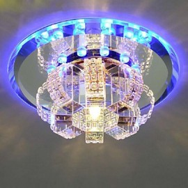 Crystal Ceiling Lamp Spotlight LED SMD 3W Creative Lamp Absorb Dome Light