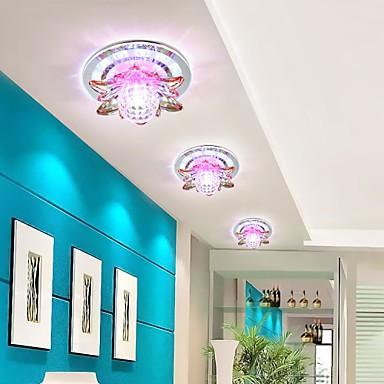 18CM Circular Crystal Idea Corridor Ceiling Lamp Tube Light Led To Absorb Dome Lamp Led Light