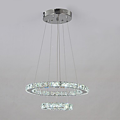 3w Traditional/Classic LED Chrome Metal Chandeliers Living Room / Dining Room / Hallway