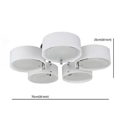 Flush Mount Modern/Contemporary 5 Lights Ceiling Light/Kids Room/Entry/ Hallway/ Metal