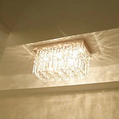 Max 40W Modern/Contemporary Crystal Metal Flush Mount