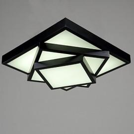 Square Flush Mount/LED Modern/Contemporary Living Room Ceiling light / Bedroom/Kids Room / Metal