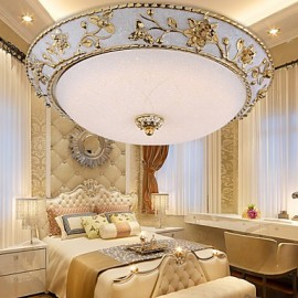 12W Modern/Contemporary LED Metal Flush Mount Living Room / Bedroom / Dining Room / Study Room/Office