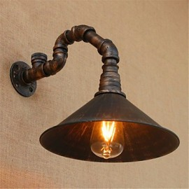 AC 110-130 / AC 220-240 40 E26/E27 Rustic/Lodge / Country Black Oxide Finish Feature for Bulb Included,Ambient Light Wall Sconces