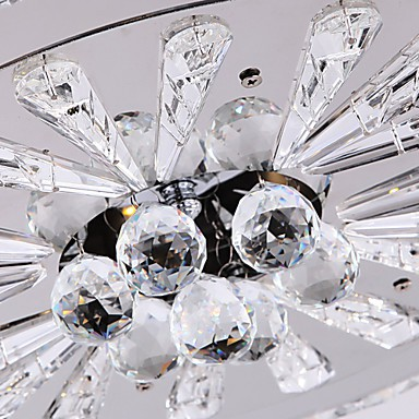 Crystal Flush Mount/LED Modern/Contemporary Living/Bed/Dining/Study/Office/Kids/Hallway Metal