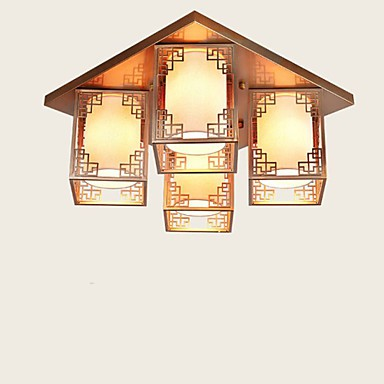 A new Chinese Style Living Room Lamps Iron Ceiling Lighting Atmosphere