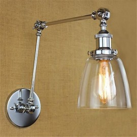 AC 110-130 AC 220-240 40W E26/E27 Rustic/Lodge Country Retro Electroplated Feature for Adjustable Height And Angle Arm Bulb Included Eye Protection