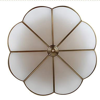 5 Traditional/Classic / Rustic/Lodge LED / Bulb Included Brass Metal Flush Mount Living Room / Bedroom / Dining Room