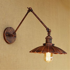 AC 110-130 AC 220-240 40W E26/E27 Rustic/Lodge Country Retro Painting Feature for Mini Style Swing Arm Bulb IncludedAmbient LightSwing
