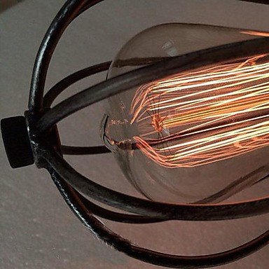 MAX 40W Vintage Mini Style / Bulb Included Painting Metal Flush Mount Living Room / Bedroom / Dining Room / Study Room/Office