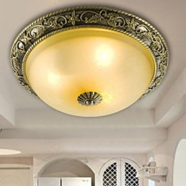 Flush Mount Mini Style / Bulb Included Traditional/Classic Living Room / Bedroom / Dining Room Resin
