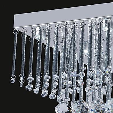 12W Artistic LED Ceiling Light in Crystal Beaded Design