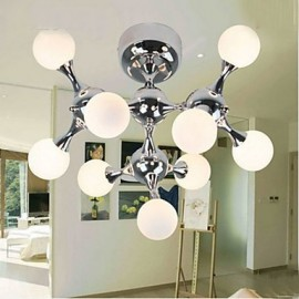 Art Glass Ball Dining Room Lamp