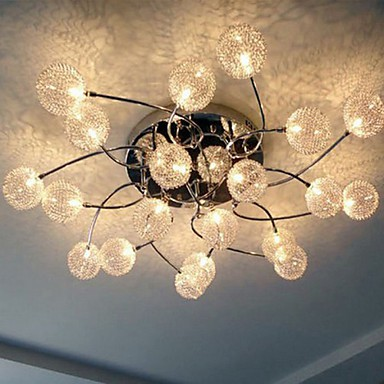 Simple Circular Ceiling lamps Iron Bedroom lamp Personality Hallway Restaurant lighting