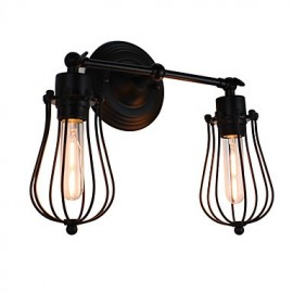 AC 220-240 8 E26/E27 Rustic/Lodge Painting Feature for LED Bulb Included,Ambient Light LED Wall Lights Wall Light