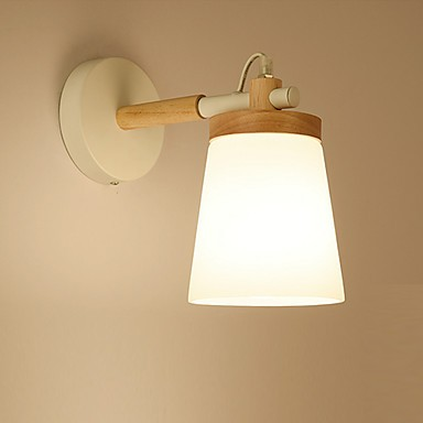 lighting sconces wall. Glassshade And Metal Base Wall Lamp FeatureAmbient Light Sconces Lighting