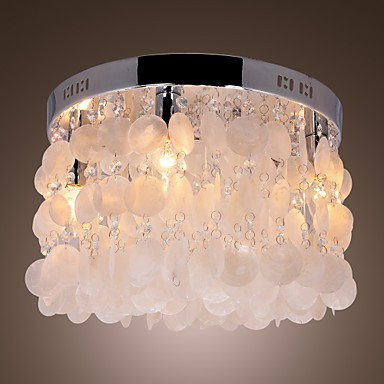 Max 40W Modern/Contemporary Crystal / Mini Style Chrome Flush Mount Living Room / Bedroom