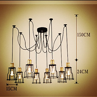 40 Country Designers Painting Metal Chandeliers Living Room / Bedroom / Dining Room / Study Room/Office