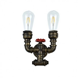 AC 220-240 8 E27 Rustic/Lodge Traditional/Classic Antique Brass Feature for LED Bulb Included,Ambient Light LED Wall Lights Wall Light