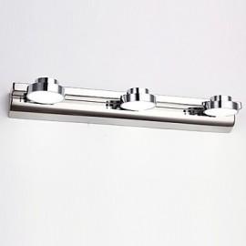 9W LED Bathroom Lighting,Modern/Contemporary LED Integrated Metal