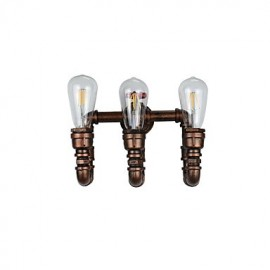 AC 220-240 12 E27 Rustic/Lodge Traditional/Classic Antique Brass Feature for LED Bulb Included,Ambient Light LED Wall Lights Wall Light