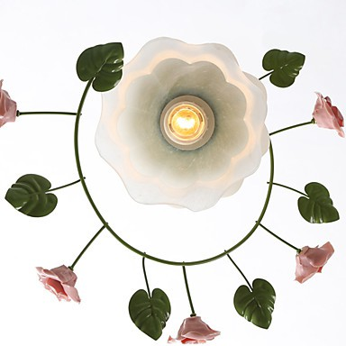 Valentine'S Day The Rose Garden Flowers And Plants Absorb Dome Light Lamp Led