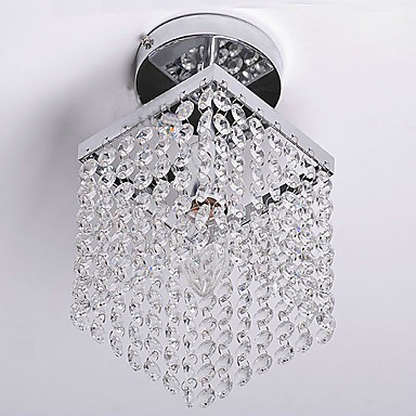 Max 40W Modern/Contemporary Crystal / Mini Style Painting Flush Mount Living Room / Bedroom / Dining Room