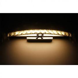 18W Contemporary Crystal LED Wall Bathroom Lighting