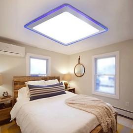 Flush Mount LED Modern/Contemporary Living/Bed/Kitchen/Bath/Study/Office/Kids/Garage Metal