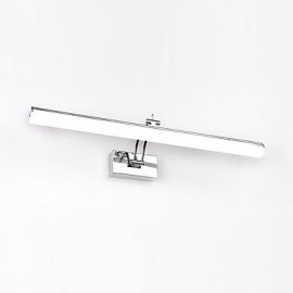 AC 100-240 12 LED Integrated Modern/Contemporary Chrome Feature for LED Bulb Included,Ambient Light Bathroom Lighting Wall Light