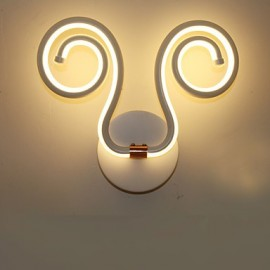 Modern Simple LED Integrated Aluminum Wall Lamp Creative Aisle Bedside Lamps Lighting