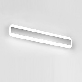 AC 100-240 24 LED Integrated Modern/Contemporary Chrome Feature for LED Bulb Included,Ambient Light Bathroom Lighting Wall Light