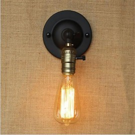 AC 110-130 AC 220-240 40 E26/E27 Retro Painting Feature for Mini Style Swing Arm Bulb Included,Ambient Light Wall Sconces Wall Light