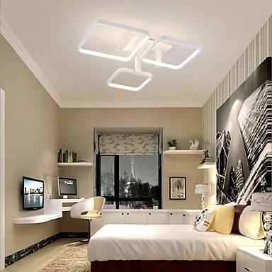 60W Modern/Contemporary LED Flush Mount Living Room / Bedroom / Dining Room / Kitchen