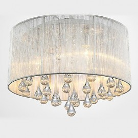 Ceiling Light Modern Crystal 4 Lights