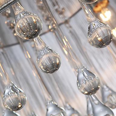 Ceiling Light Modern Crystal 4 Lights