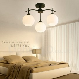 3 Light Traditional/Classic LED Integrated Living Room,Dining Room,Bed Room E27 Chandeliers