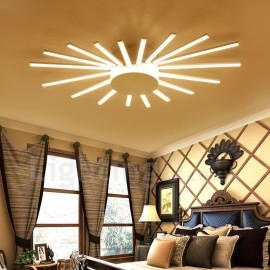 18 Light Modern/Contemporary LED Integrated Living Room,Dining Room,Bed Room Metal Chandeliers